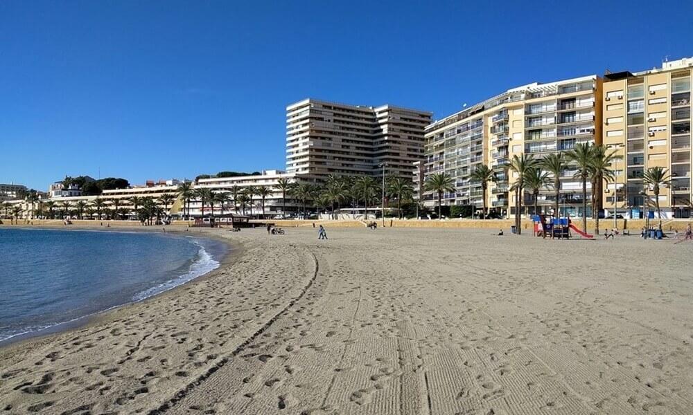 Aguadulce Beach in Roquetas de Mar
