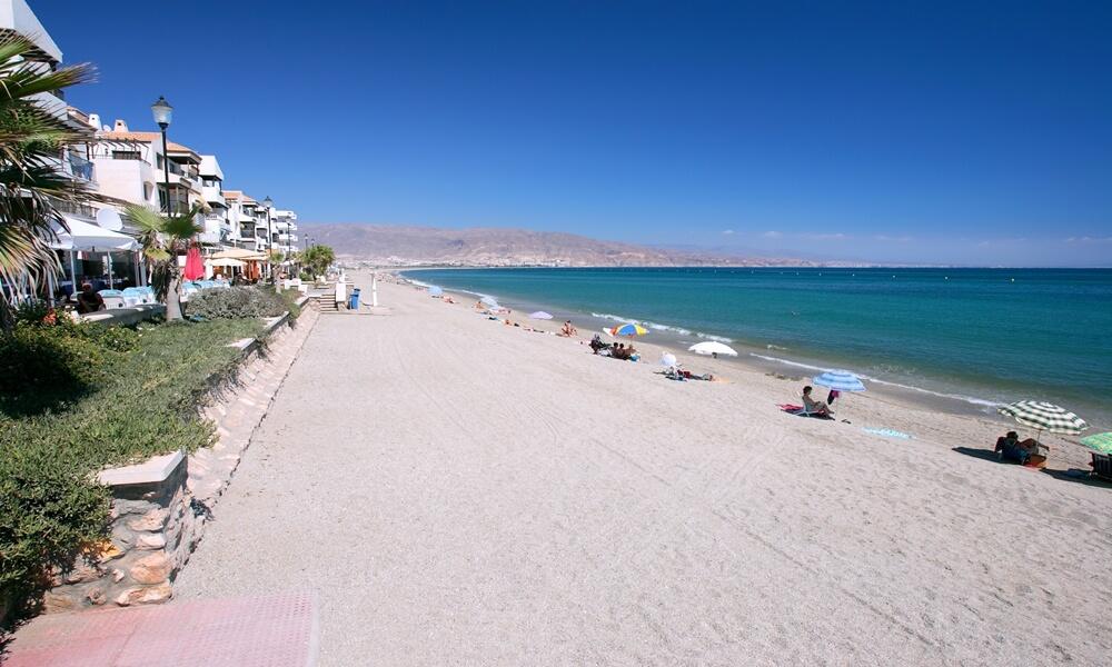 La Romanilla Beach in Roquetas de Mar