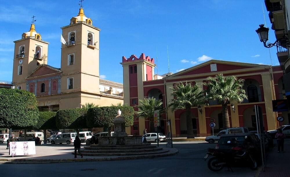 Berja Plaza Iglesia Ayuntamiento