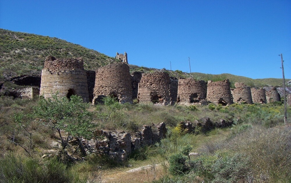 Calcination furnaces (Lucainena de las Torres)
