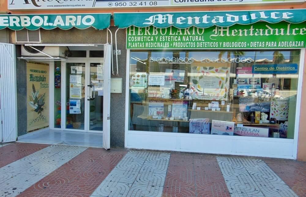 Herbolario Mentadulce - Roquetas de Mar