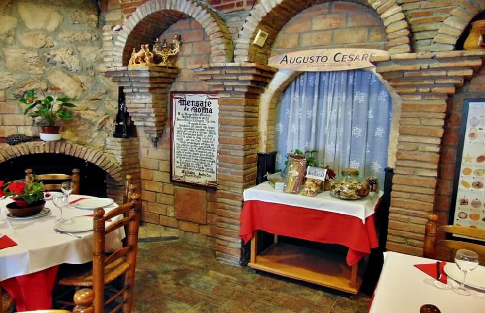 Pizzería Augusto Cesare - Roquetas de Mar