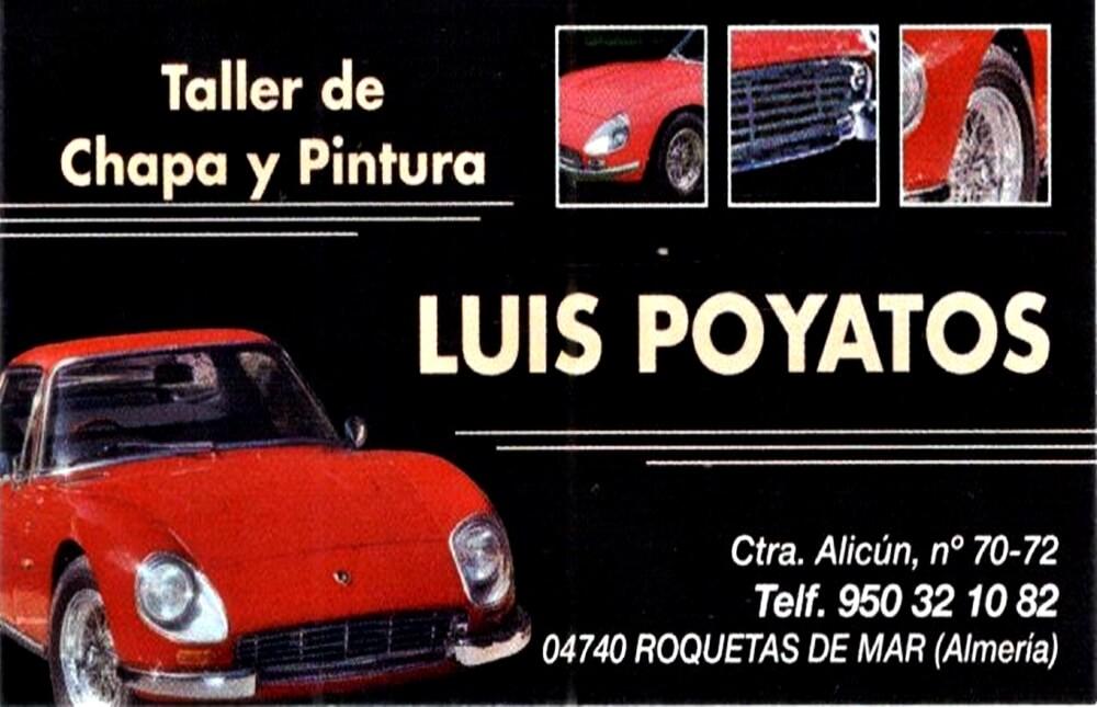 Taller Luis Poyatos - Roquetas de Mar