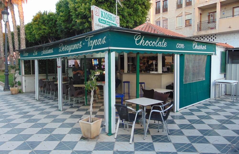 Kiosko Los Jardines - Roquetas de Mar