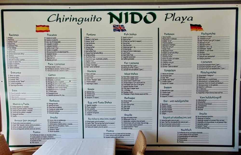 Chiringuito El Nido - Roquetas de mar