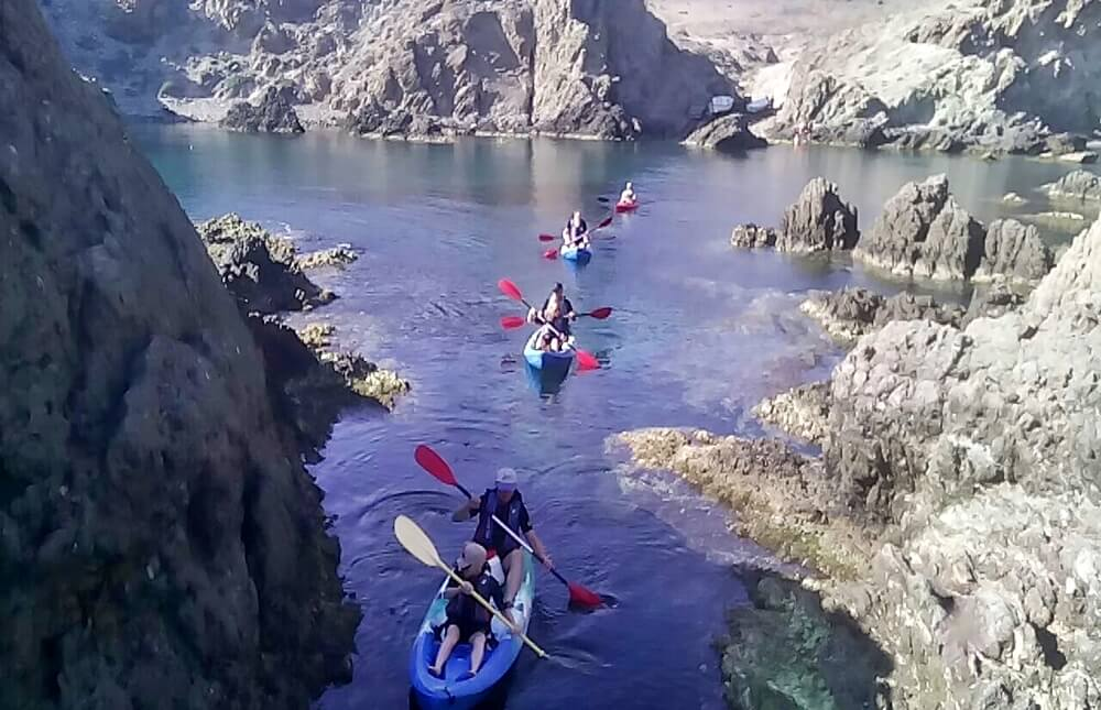 Cabo de gata Kayak