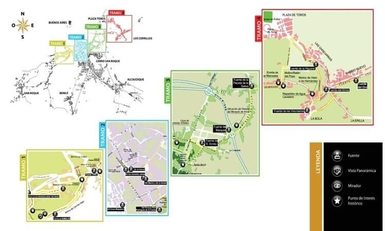 Ruta urbana de las fuentes (Berja)