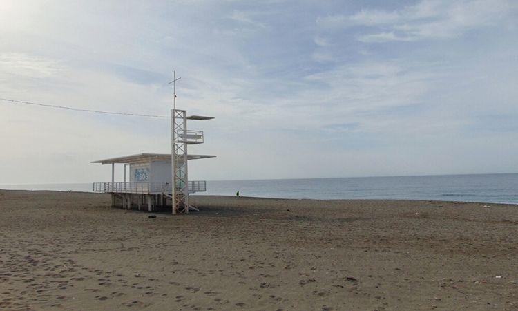 Playa de Nueva Almería - Térmica (Almería)