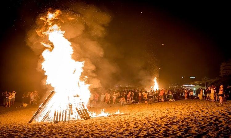 St. John´s bonfires - Almeria