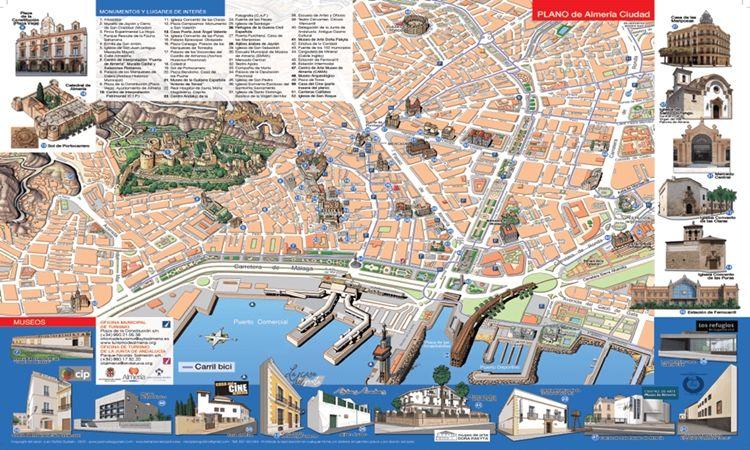 Plano de Almería