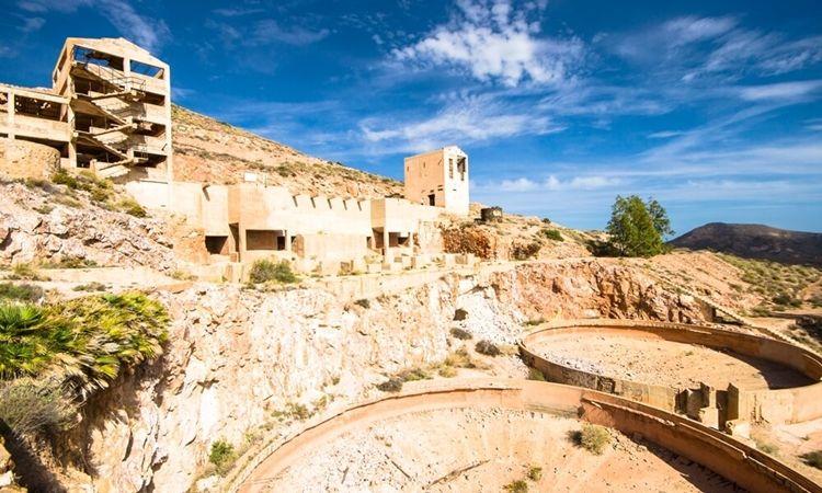 Minas de oro de Rodalquilar (Cabo de Gata)