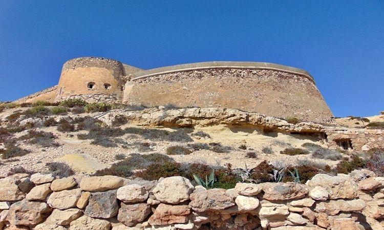 San Ramon Castle (Cabo de Gata)