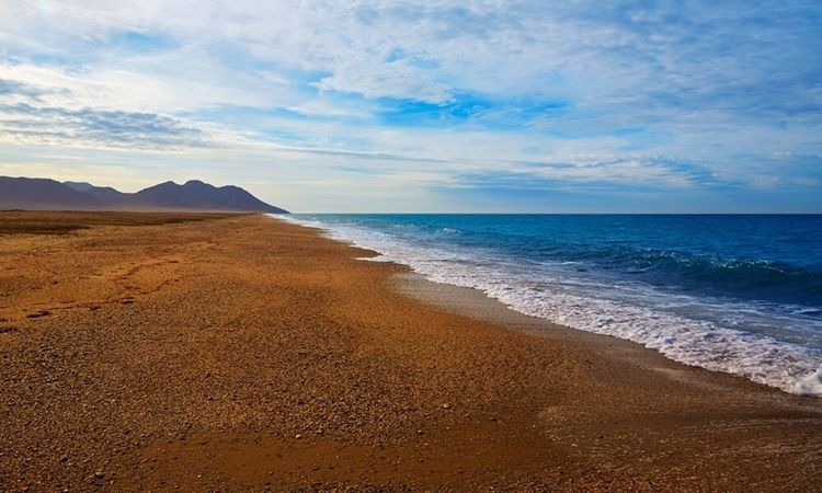 San Miguel of Cabo de Gata Beach