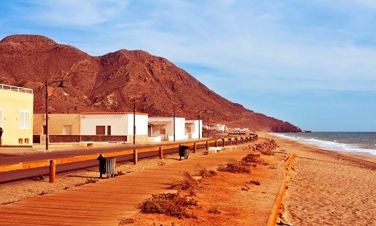 Playa de la Almadraba de Monteleva (Cabo de Gata)