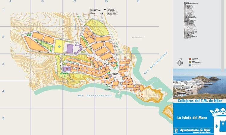 Plano de La Isleta del Moro