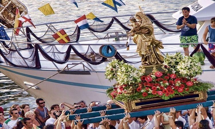 Virgin of Carmen (Garrucha - Almeria)