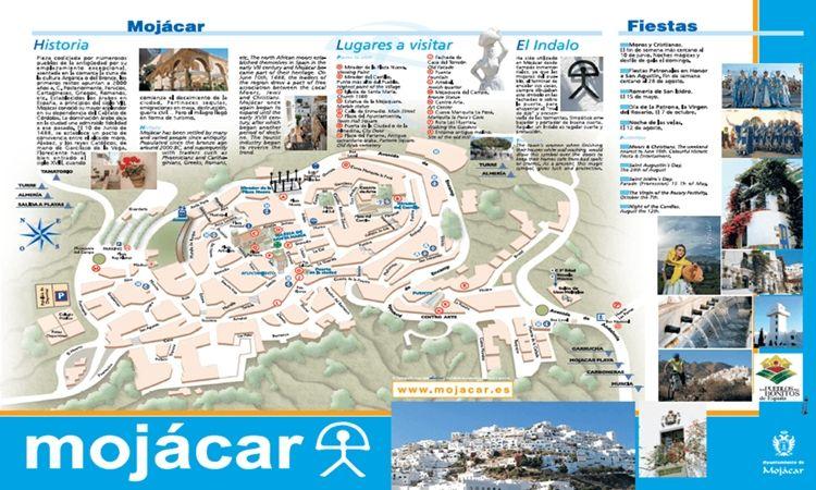 Plano de Mojácar Pueblo