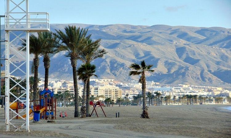 Playa de La Romanilla (Roquetas de Mar)