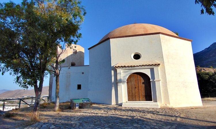 Torre octogonal de Aljízar y Ermita (Celín - Dalías)