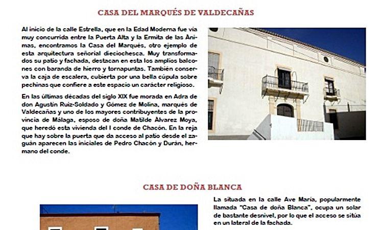 Ruta Casas Señoriales (Adra)