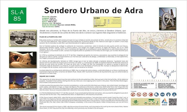 Sendero urbano (Adra)
