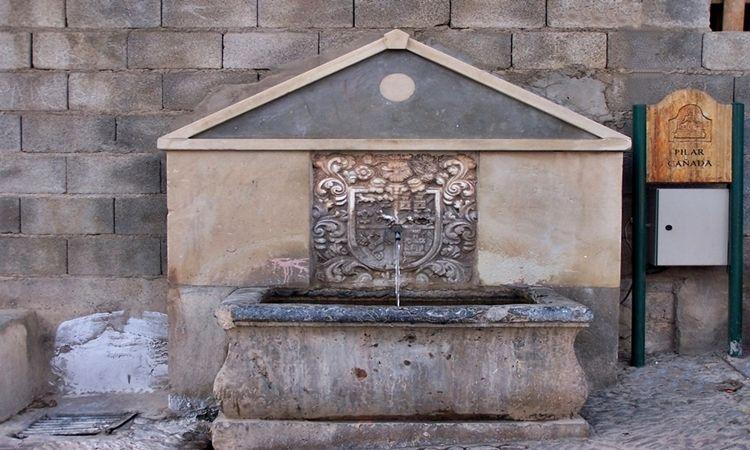 Pilar de la Cañada (Laujar de Andarax - Almería)