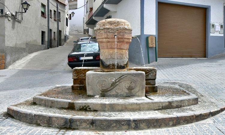 Pilar de San Antonio (Laujar de Andarax - Almería)