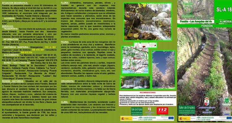 Fondón - Las Acequias del río