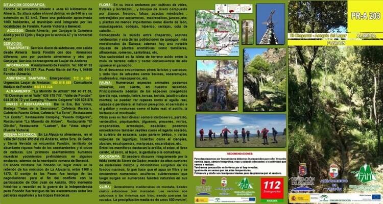 El Chaparral - Acequia (Fondón)