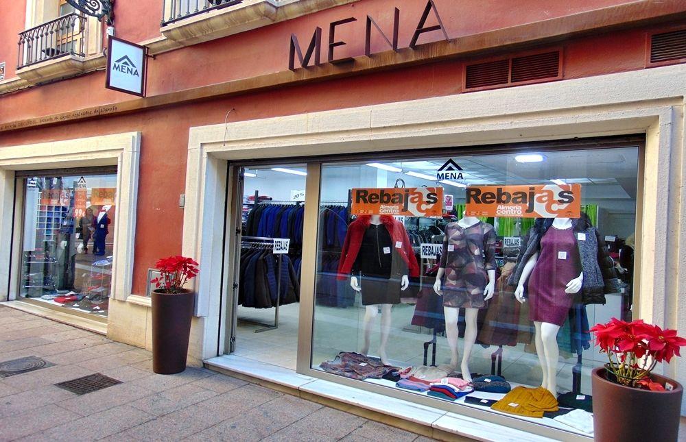 Mena Clothing for Men and Women - Almeria