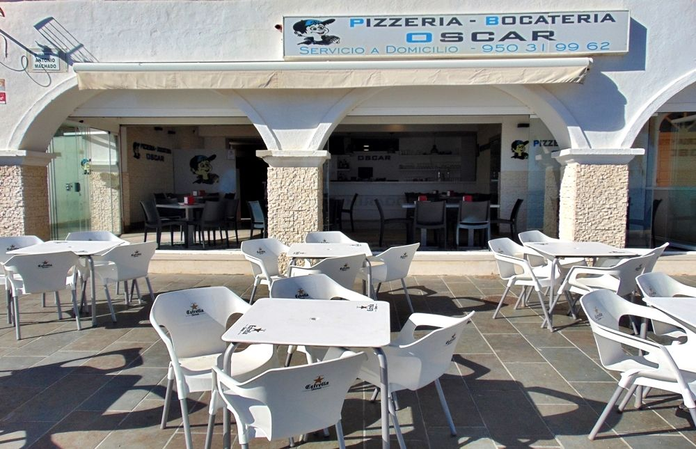 Pizzería Bocatería Oscar - Roquetas de Mar