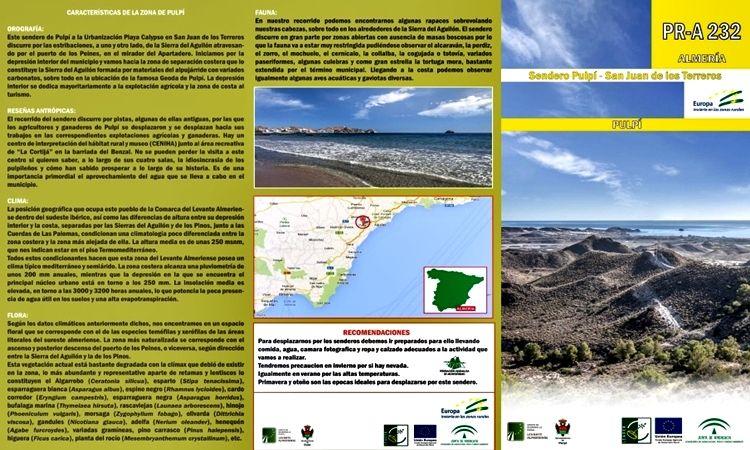 Ruta Pulpí - San Juan de los Terreros
