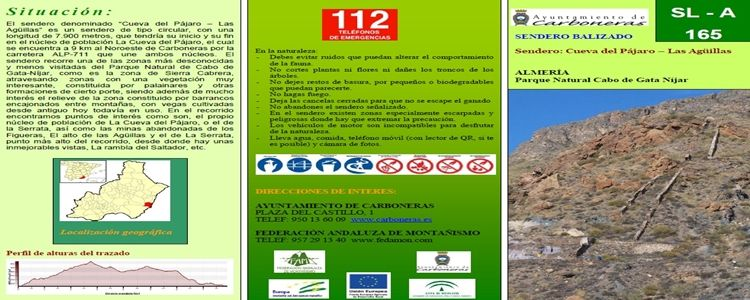 Ruta Cueva del Pájaro - Las Agüillas (Cabo de Gata)