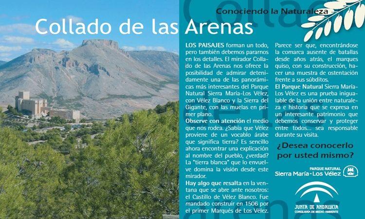 Collado de las Arenas (Parque Natural Sierra María – Los Vélez)