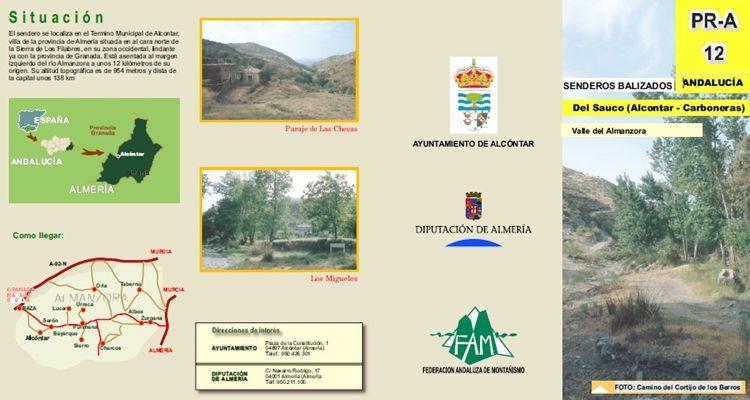 Sendero Alcóntar - Carboneras
