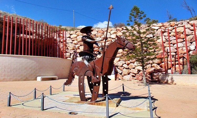 Monument to Quixote (Gador - Almeria)
