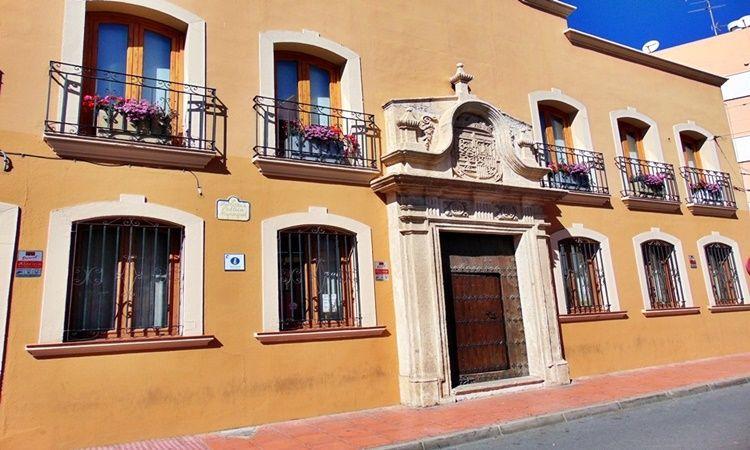 Fachada Palacio Boleas (Huércal de Almería - Almería)
