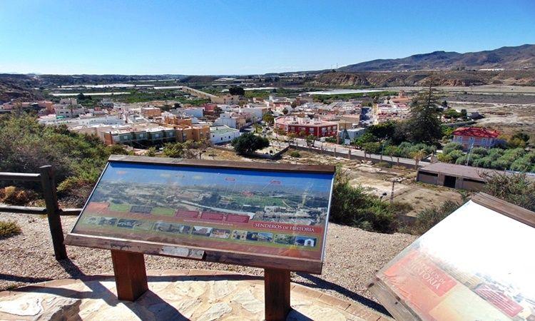 Mirador del Andarax (Rioja - Almería)