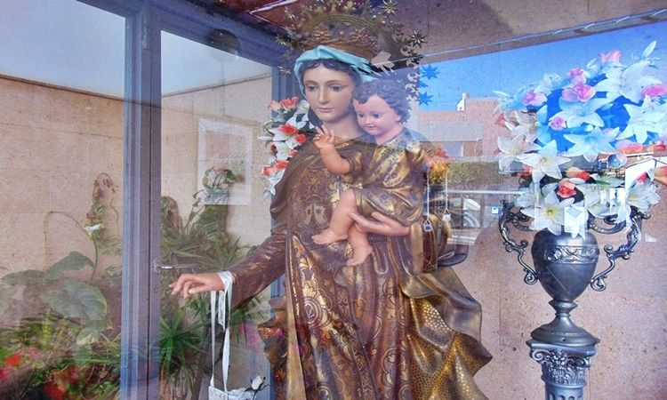 Virgin of Carmen Hermitage (Viator - Almeria)