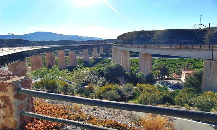 Mirador Los Puentes (Santa Fe de Mondújar - Almería)