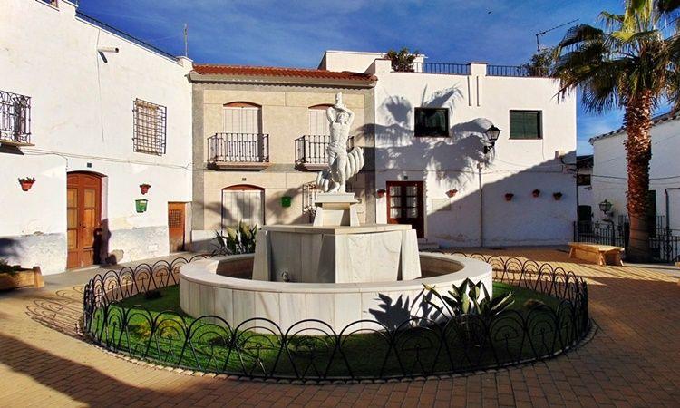 Saint Sebastian Square (Lubrin - Almeria)
