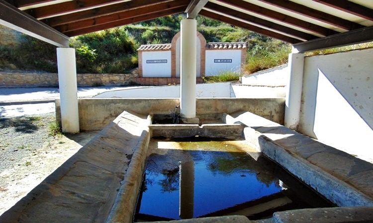 """The """"cañico"""" Fountain (El Marchal de Lubrin - Almeria)"""