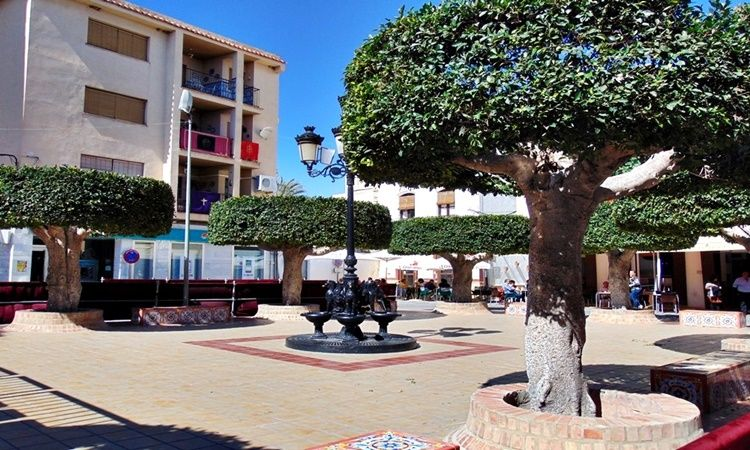 Constitution Square (Sorbas - Almeria)
