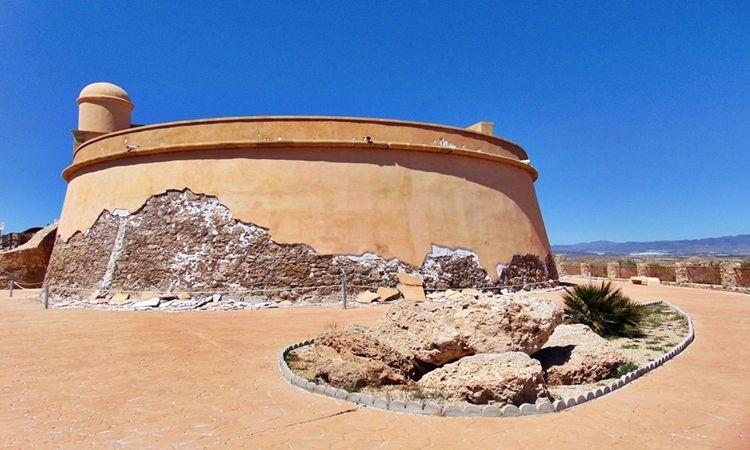 Castillo de San Juan de los Terreros (Pulpí - Almería)