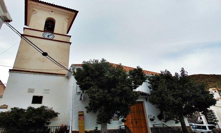 Church of the Virgin of the Anguishes (Benizalon - Almeria)