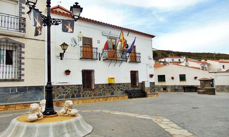 Constitution Square (Benizalon - Almeria)