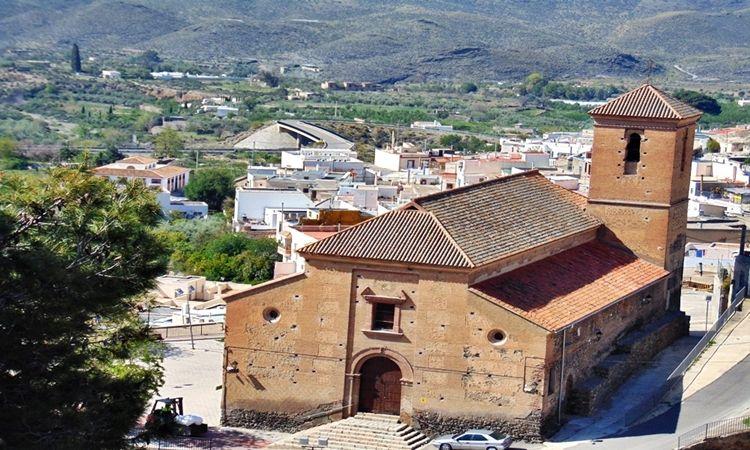 Church of Our Lady of Carmen (Gergal - Almeria)