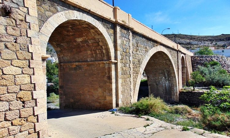 Puente Viejo de Gérgal (Almería)