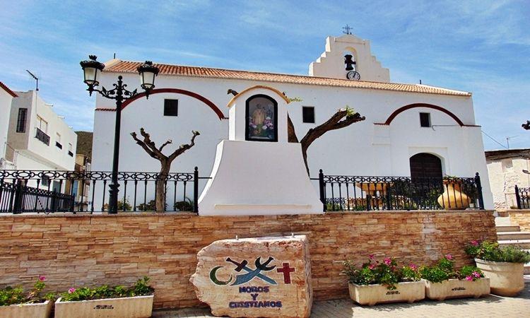 Iglesia Parroquial de Ocaña (Las Tres Villas - Almería)