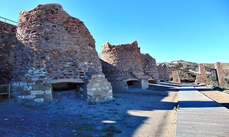 Calcination furnaces (Lucainena de las Torres - Almeria)